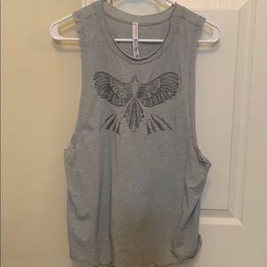 Free people movement muscle tee
